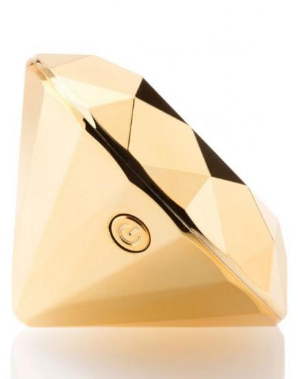 Pozlacený vibrátor Twenty One Diamond