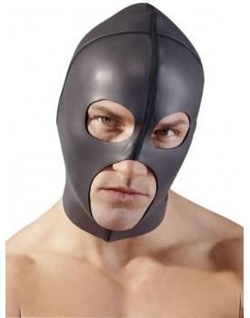 Neoprenová maska - 3 otvory, černá