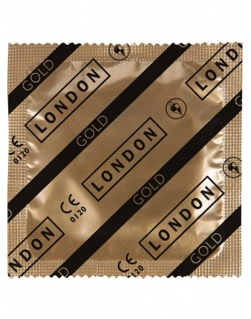Kondom Durex LONDON GOLD - ztenčený (1 ks)