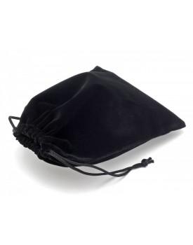 Sametový pytlík - černý (11x16 cm)