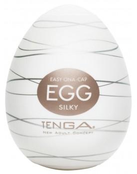 Tenga Egg Silky - masturbátor pro muže