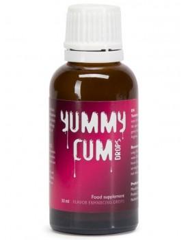 Yummy Cum - kapky pro lepší chuť spermatu, 30 ml