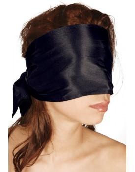 Bondage saténový šátek, černý