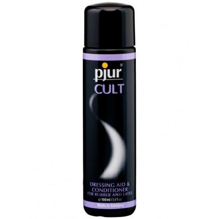 Pjur CULT - snadné oblékání gumy a latexu, 100 ml