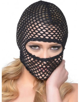 Síťovaná maska Fishnet Hood