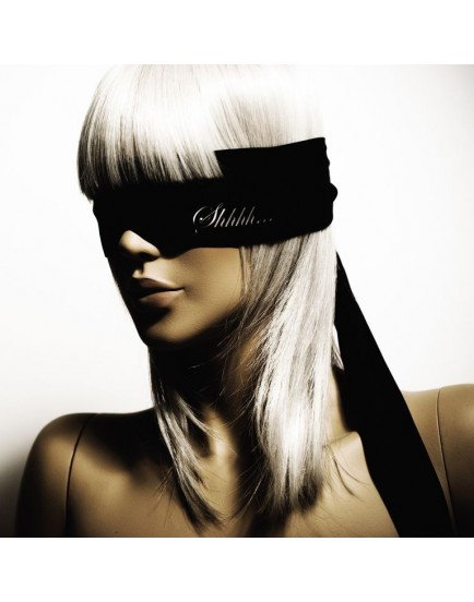 Saténová páska na oči Shhh Bijoux Indiscrets