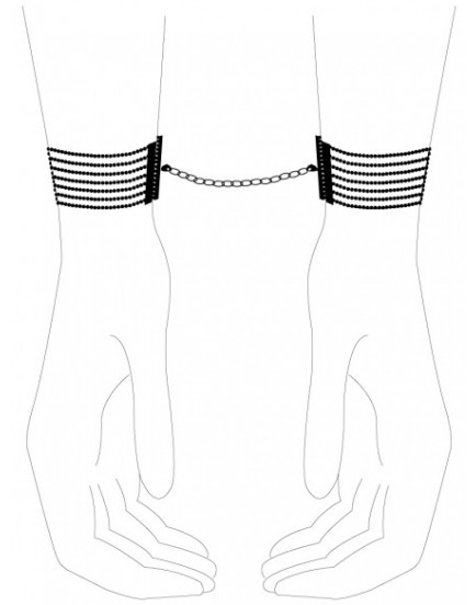 Náramky - pouta Désir Métallique Silver, stříbrné