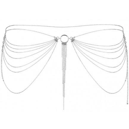 Ozdobné řetízky na boky Magnifique Silver, stříbrné