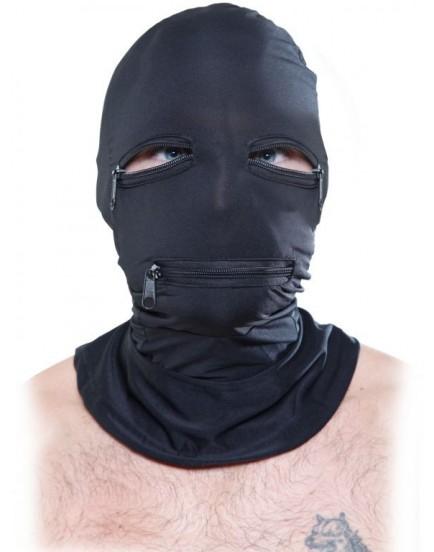 Maska na hlavu se třemi zipy