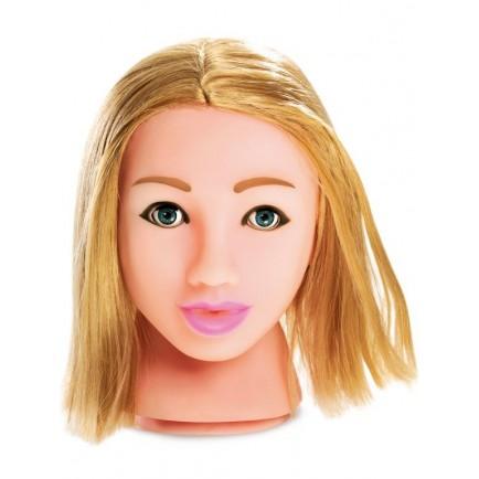 Masturbátor Fuck My Face v životní velikosti - blondýnka