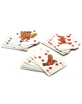 Erotické hrací karty Kama Sutra, 54 karet