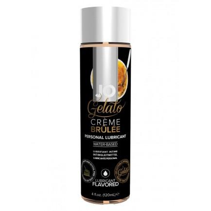 Lubrikační gel System JO Gelato Creme Brulee, 120 ml