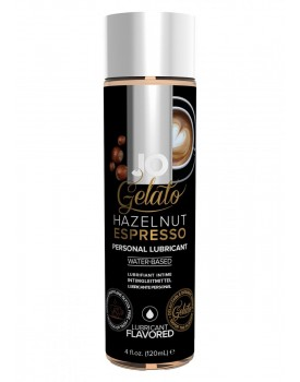 Lubrikační gel System JO Gelato Oříškové espresso, 120 ml