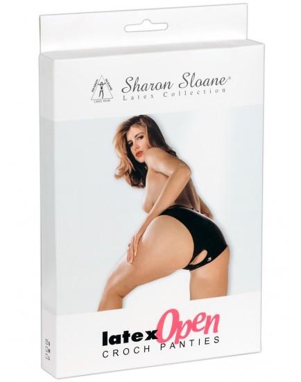 Dámské latexové kalhotky s otvorem Sharon Sloane