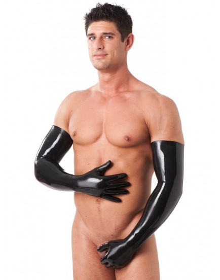Dlouhé latexové rukavice, unisex