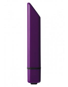 Diskrétní vibrátor na klitoris Rocks-Off Bamboo (fialový)