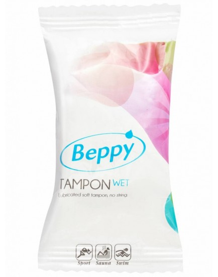 Menstruační tampon Beppy WET - vlhčený (1 ks)