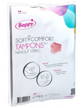 Menstruační tampony Beppy DRY - klasické (10 ks)
