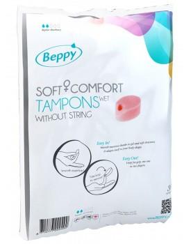 Menstruační tampony Beppy WET - vlhčené (10 ks)