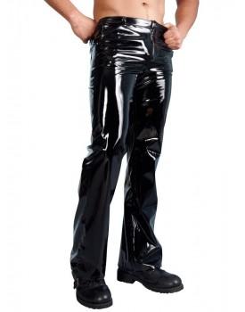 Dlouhé lakované kalhoty Black Level (pro muže)