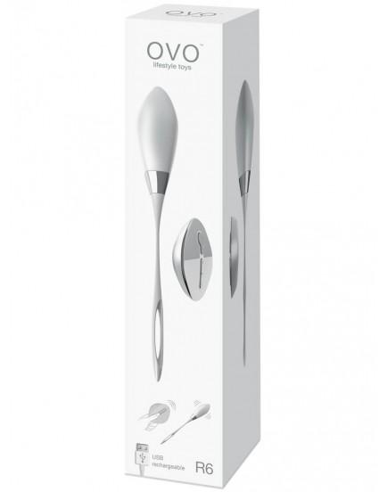 Bezdrátové vibrační vajíčko OVO R6