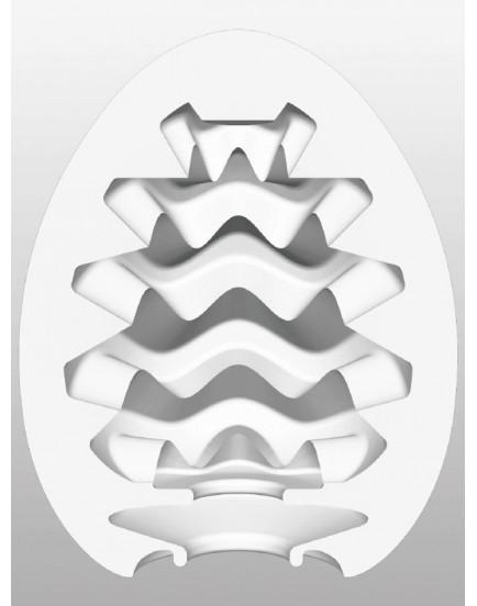 Tenga Egg Cool Wavy - masturbátor pro muže