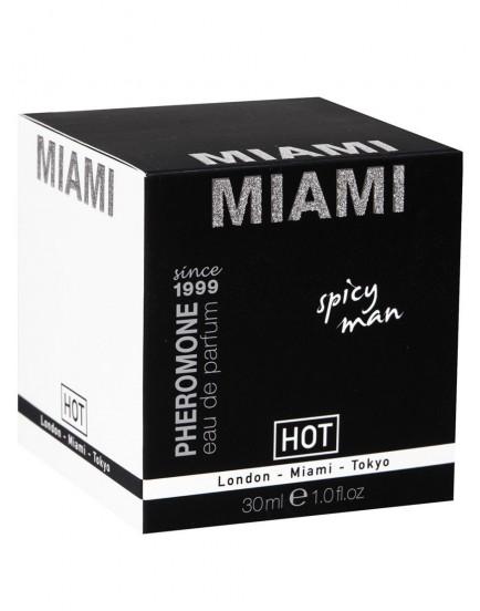Parfém s feromony HOT MIAMI Spicy Man, 30 ml (pro muže)
