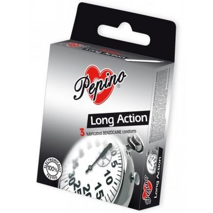 Kondomy Pepino Long Action (3 kusy)