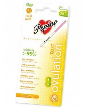 Ovulační test Pepino Dipstrip Maxi (5 ks)