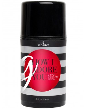 "Stimulační gel na bod G Sensuva ""G, How I Adore You"" (50 ml)"