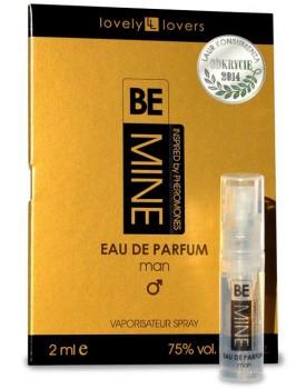 Parfém s feromony pro muže Lovely Lovers BeMINE (VZOREK), 2 ml