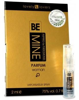 Parfém s feromony pro ženy Lovely Lovers BeMINE (VZOREK), 2 ml