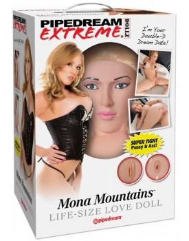 Nafukovací panna Pipedream Mona Mountains