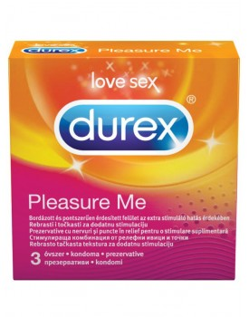 Kondomy Durex Pleasure Me (3 ks)