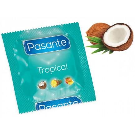 Kondom Pasante Tropical Coconut, kokos (1 ks)