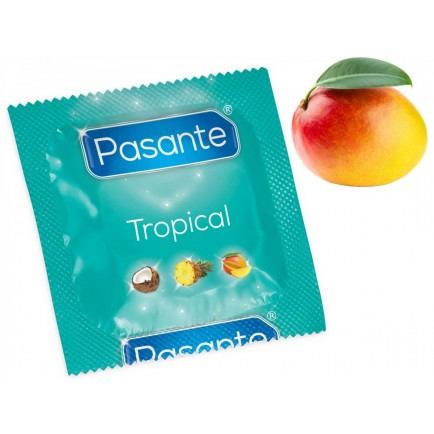 Kondom Pasante Tropical Mango (1 ks)