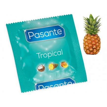 Kondom Pasante Tropical Pineapple, ananas (1 ks)