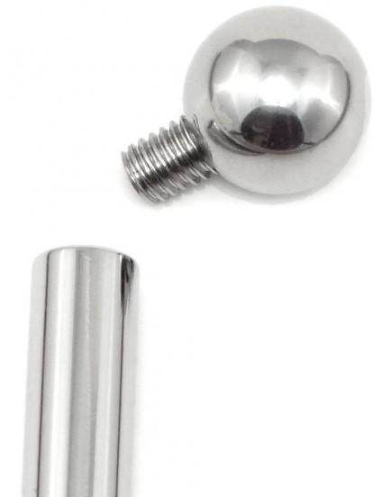 Dilatátor - třístupňový s kuličkou, dutý (6-9 mm)