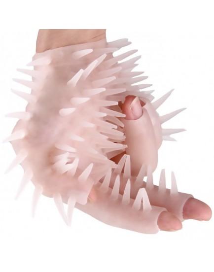 Masturbační (masážní) rukavice se stimulačními výstupky, 1 ks