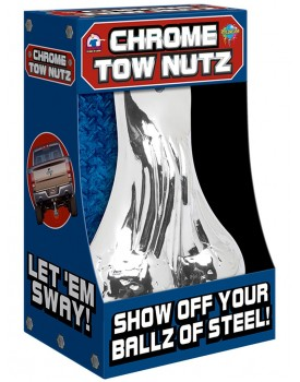 Koule na auto CHROME TOW NUTZ (Pipedream)