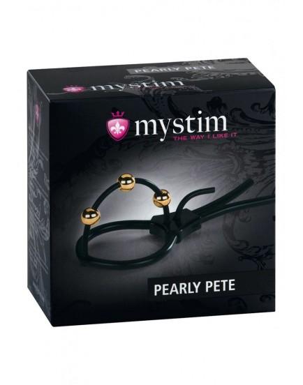 Korunka na žalud MYSTIM Pearly Pete - elektrosex
