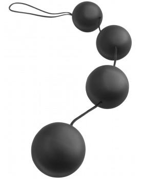 Anální kuličky Anal Fantasy Deluxe Vibro Balls, černé