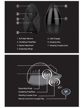 Stimulátor pro muže Pulse III Solo (Hot Octopuss)