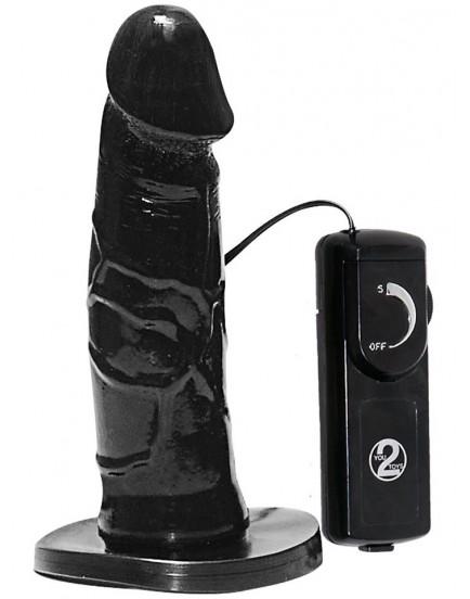 Připínací penis Queeny Strap-on (vibrační)