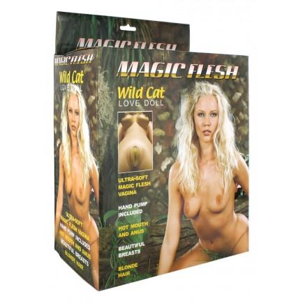 Nafukovací panna Wild Cat - Magic Flesh