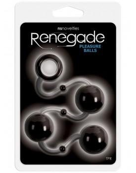Anální kuličky Pleasure Balls od Renegade