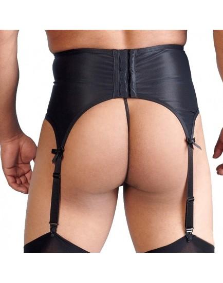 Pánský podvazkový pás s krajkou
