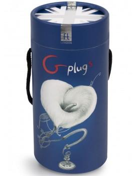 Malý nabíjecí vibrační kolík Gplug OCEAN (S)