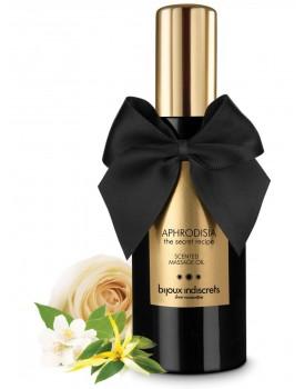 Masážní olej Aphrodisia od Bijoux Indiscrets - s tóny ylang-ylang, růže a jasmínu