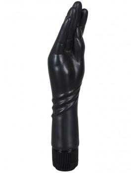 Vibrátor ve tvaru malé ruky The Black Hand - 23 cm